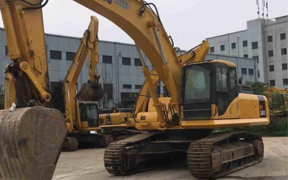 小松挖掘机PC360-7_2013年出厂12415小时