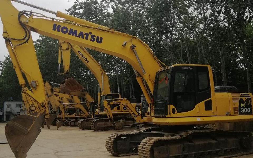 小松挖掘机PC210LC-8M0_2017年出厂4208小时