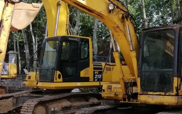 小松挖掘机PC130-7_2011年出厂15823小时