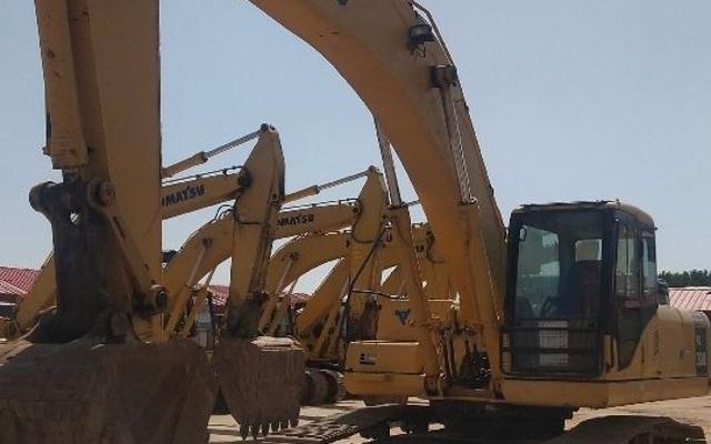 小松挖掘机_认证整备车_PC300-7