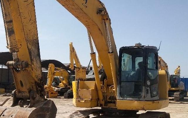 小松挖掘机_认证整备车_PC228US-3