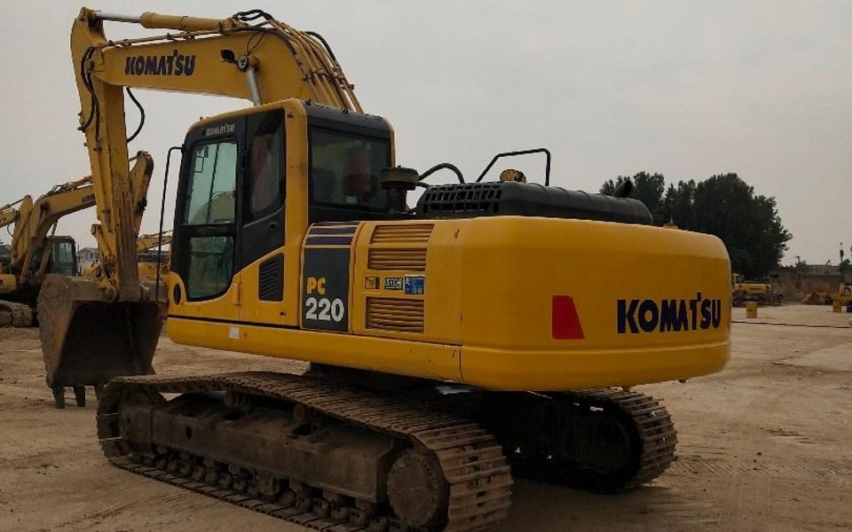 小松挖掘机PC220-8M0_2016年出厂4897小时