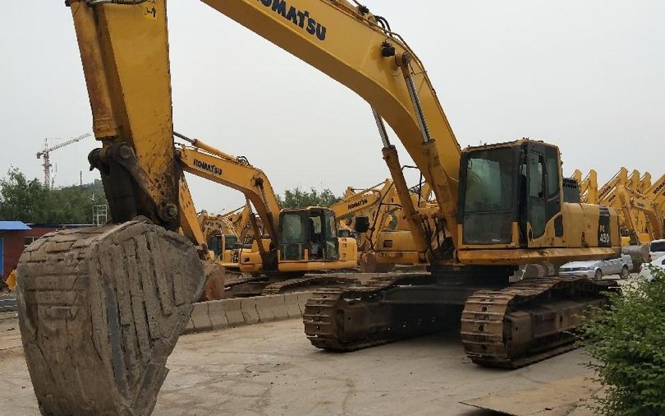小松挖掘机PC450-8_2011年出厂14822小时