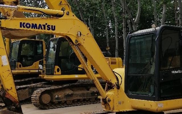 小松挖掘机_认证整备车_PC56-7