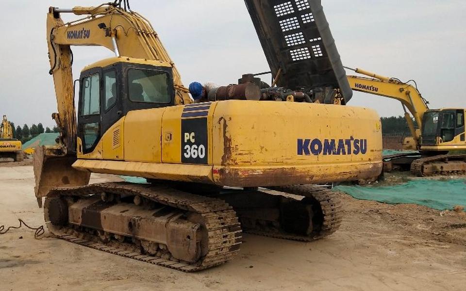 小松挖掘机PC360-7_2010年出厂9779小时