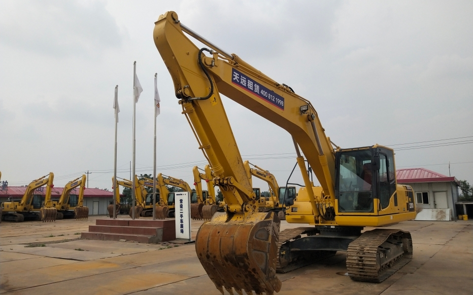 小松挖掘机PC200-8M0_2018年出厂732小时