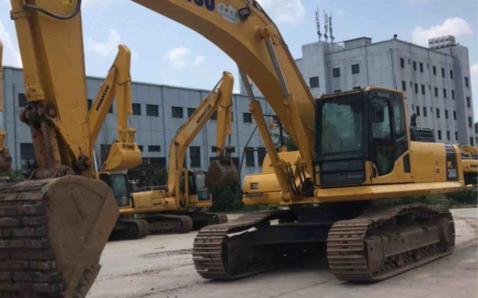小松挖掘机PC360-8M0_2017年出厂2835小时