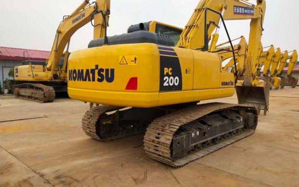 小松挖掘机PC200-8M0_2018年出厂2392小时