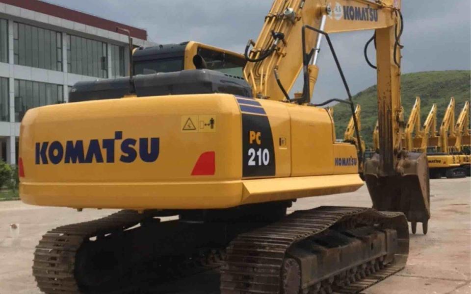 小松挖掘机PC210-8M0_2017年出厂4097小时