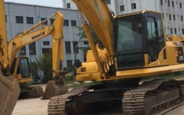 小松挖掘机_高端循环机_PC210-8M0