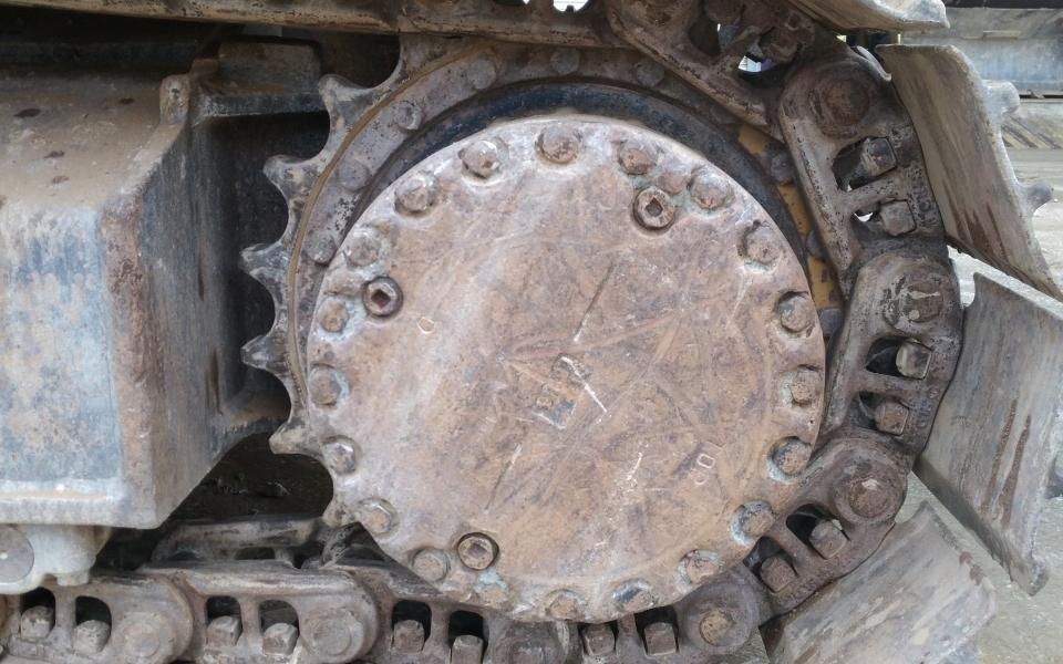 小松挖掘机PC220-8_2009年出厂9617小时