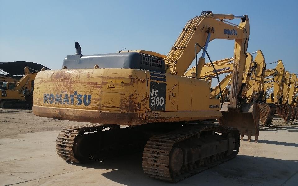 小松挖掘机PC360-7_2013年出厂8352小时