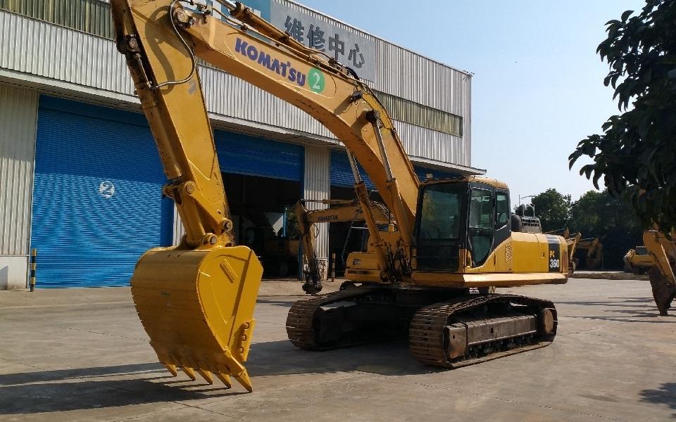 小松挖掘机PC360-7_2013年出厂18909小时