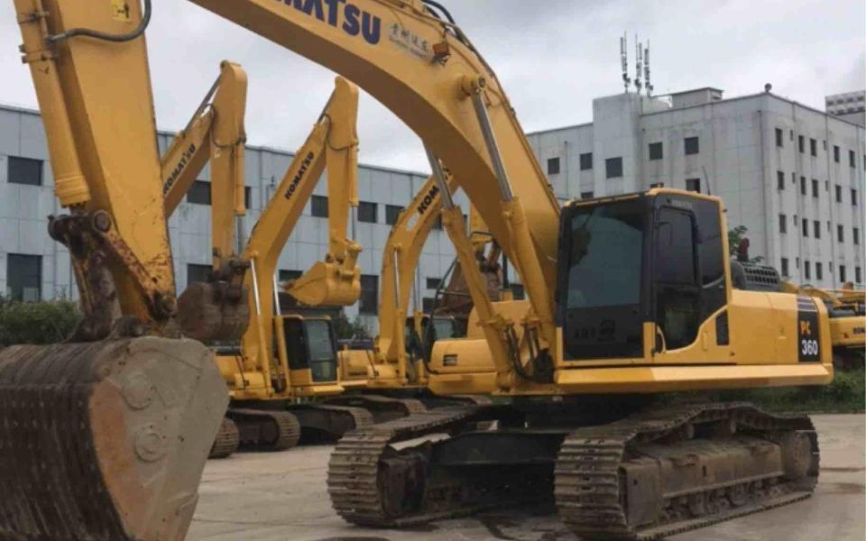 小松挖掘机_高端循环机_PC360-8M0_2016年出厂4969小时