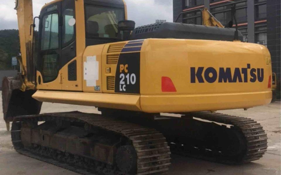 小松挖掘机_认证整备车_PC210LC-8M0_2013年出厂8870小时