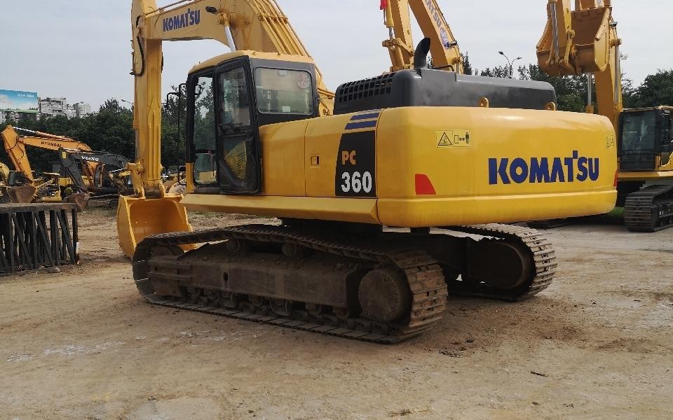 小松挖掘机PC360-7_2012年出厂10035小时