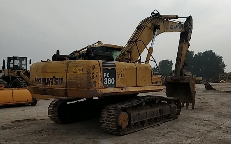 小松挖掘机PC360-7_2019年出厂15682小时
