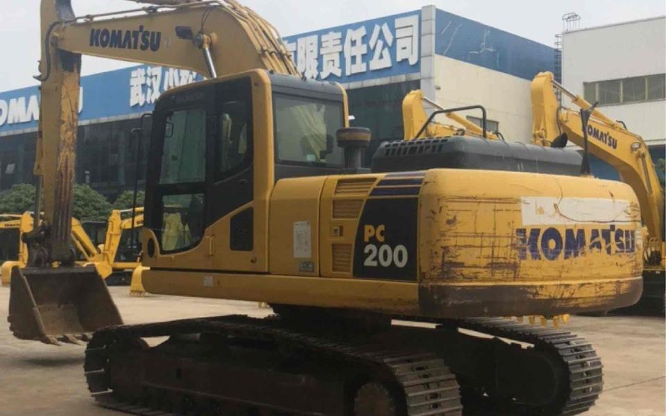 小松挖掘机PC200-8M0_2013年出厂9100小时