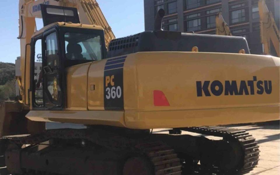 小松挖掘机PC360-7_2012年出厂10383小时