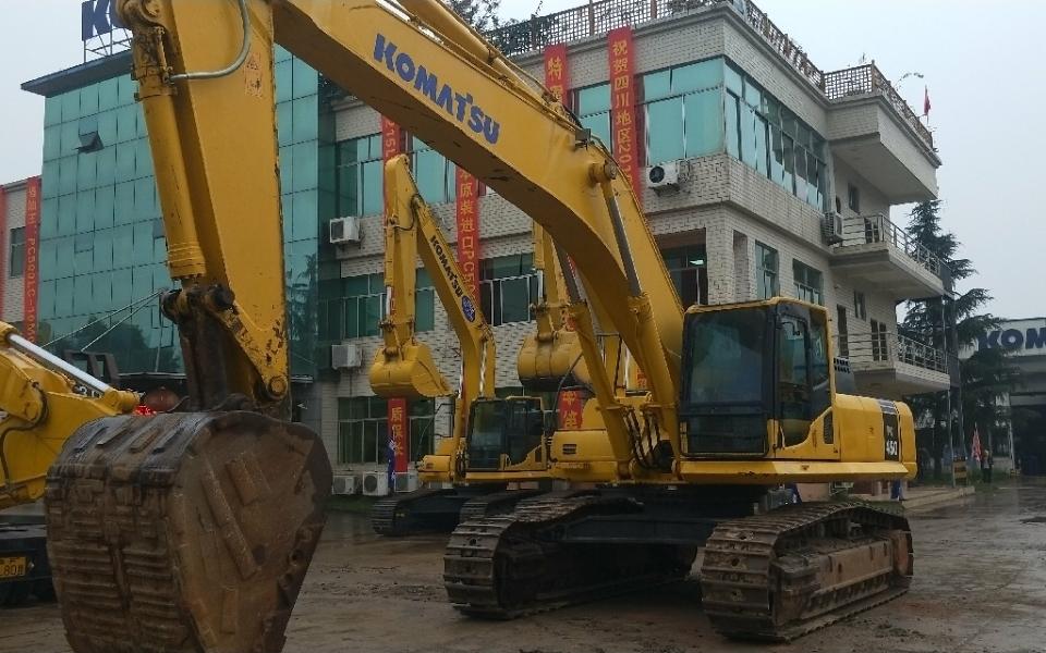 小松挖掘机PC450-8_2014年出厂12357小时