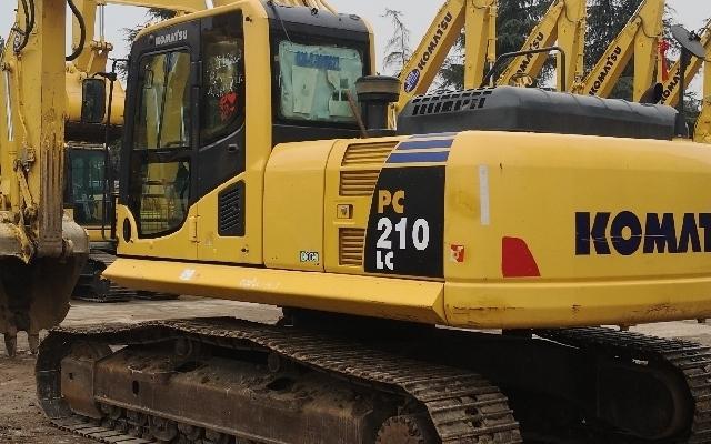 小松挖掘机_认证整备车_PC210LC-8M0