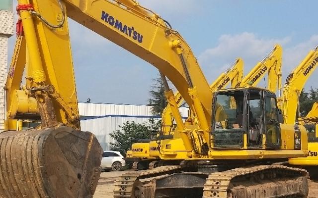 小松挖掘机_认证整备车_PC460LC-8