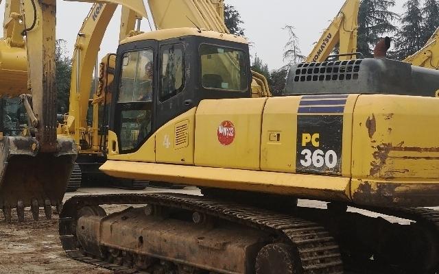 小松挖掘机_认证整备车_PC360-7
