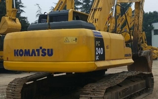 小松挖掘机_认证整备车_PC240LC-8