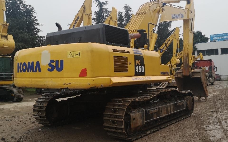 小松挖掘机_认证整备车_PC450-8_2010年出厂13554小时