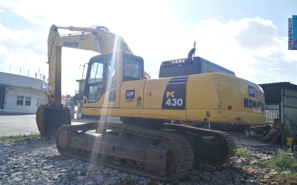 小松挖掘机PC430-8_2017年出厂4936小时