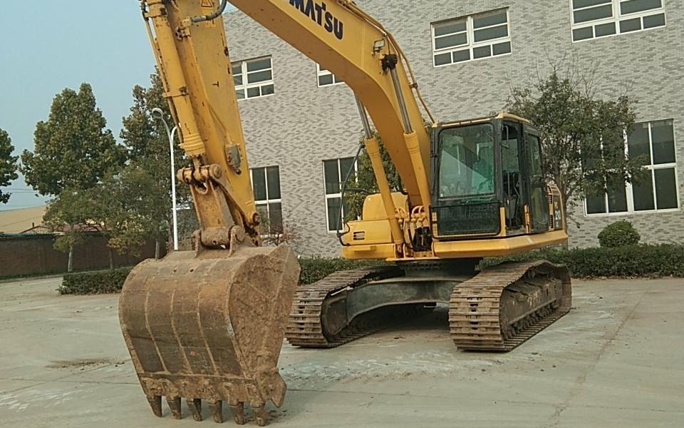 小松挖掘机PC210LC-8M0_2015年出厂5348小时