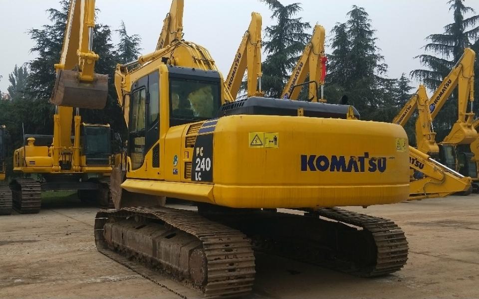 小松挖掘机PC240LC-8_2019年出厂11935小时