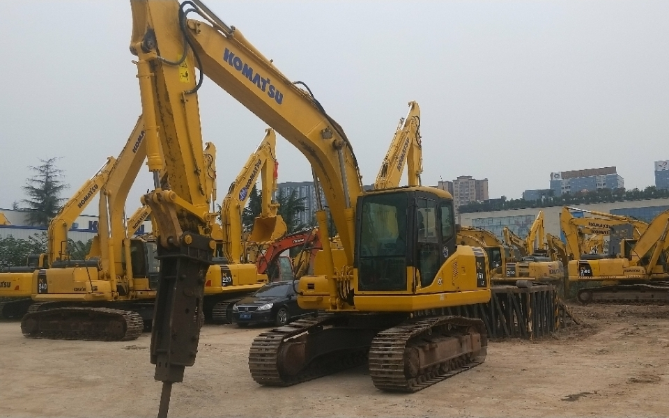 小松挖掘机PC160LC-7_2015年出厂5311小时