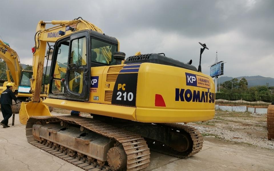 小松挖掘机PC210-8M0_2018年出厂1989小时