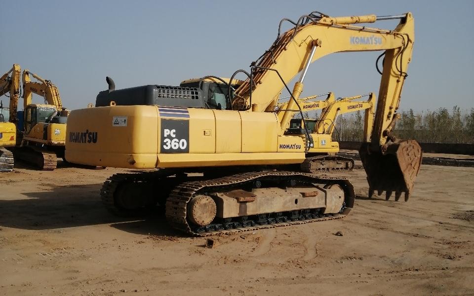 小松挖掘机PC360-7_2011年出厂16662小时