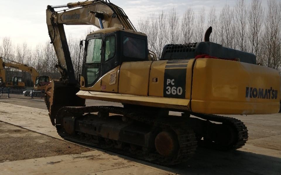 小松挖掘机PC360-7_2010年出厂6450小时