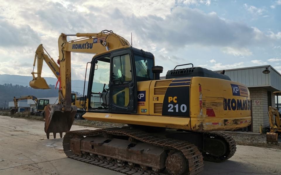 小松挖掘机PC210-8M0_2018年出厂3451小时