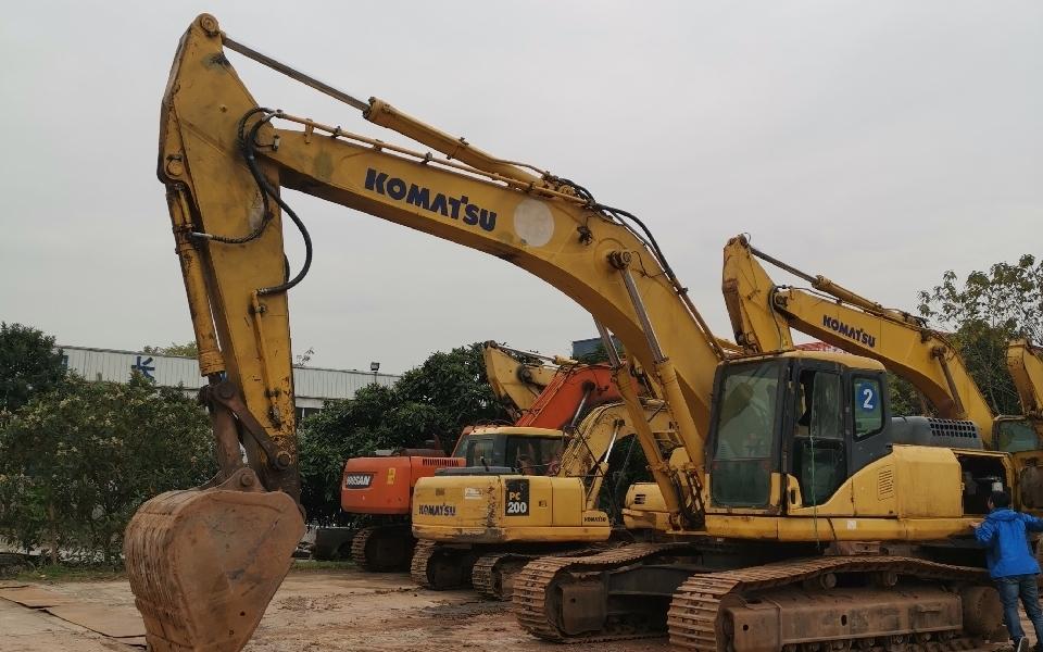 小松挖掘机PC300-7_2010年出厂22880小时