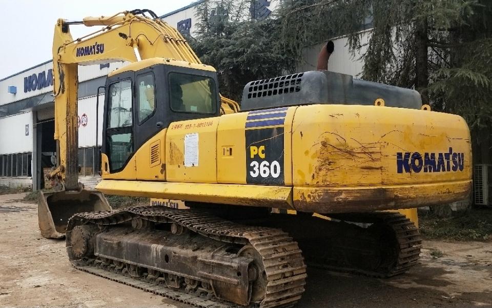 小松挖掘机PC360-7_2011年出厂12964小时