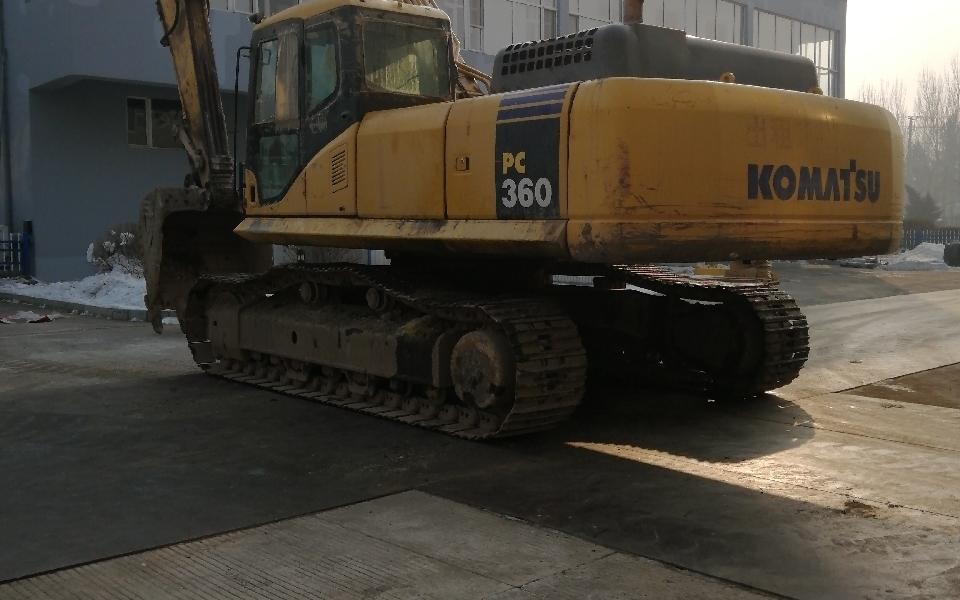 小松挖掘机PC360-7_2010年出厂18868小时