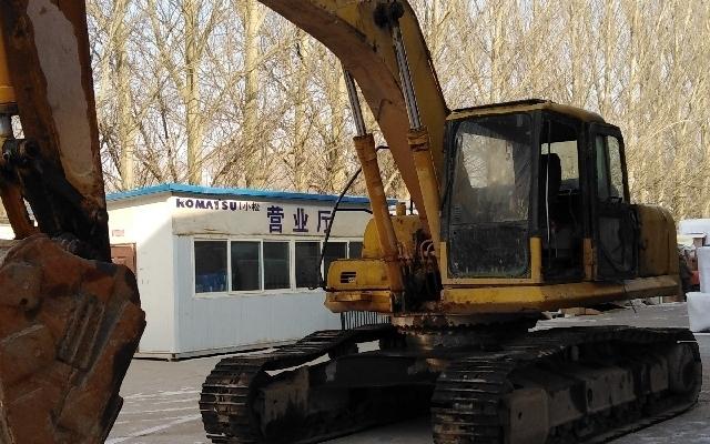 小松挖掘机_认证整备车_PC270-7