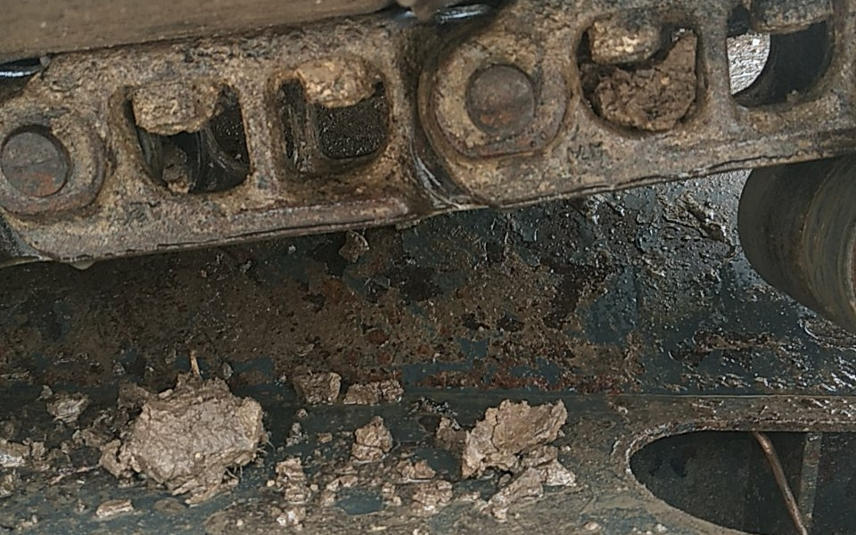 小松挖掘机PC60-7_2002年出厂9639小时