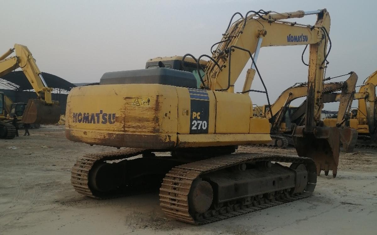 小松挖掘机PC270-7_2010年出厂18924小时