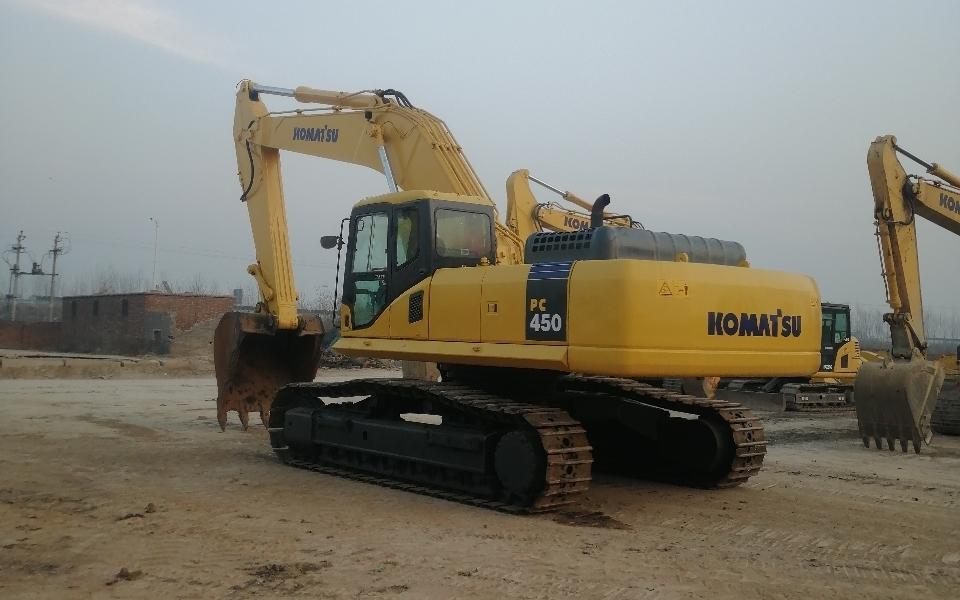 小松挖掘机PC450-7_2008年出厂14508小时