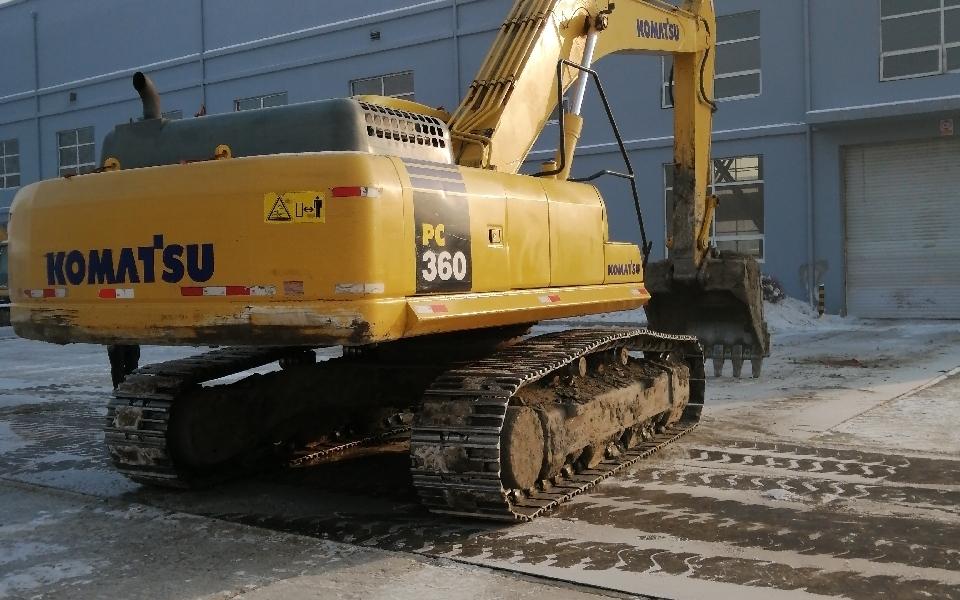 小松挖掘机PC360-7_2013年出厂15973小时