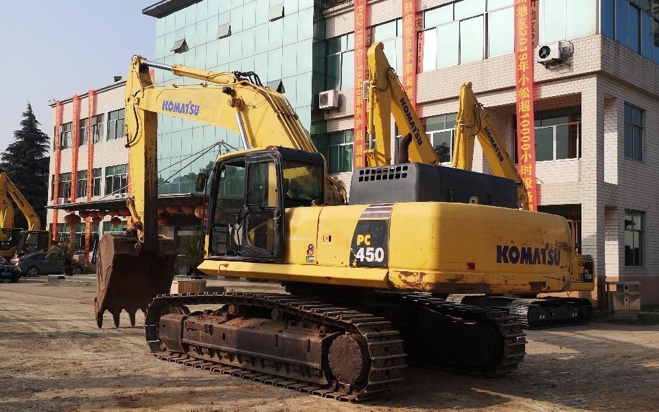 小松挖掘机PC450-8_2011年出厂15242小时