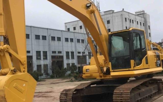 小松挖掘机_认证整备车_PC210LC-8