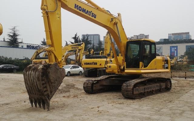小松挖掘机_认证整备车_PC220LC-7