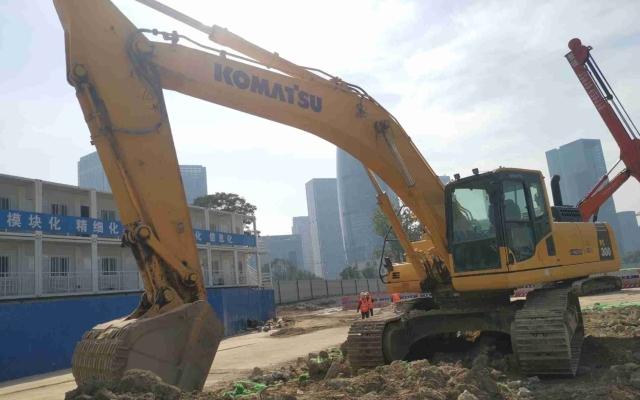 小松挖掘机_高端循环机_PC300-8M0